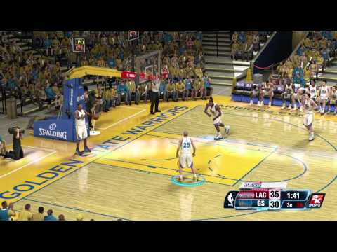 NBA 2K14 Playoffs : Clippers vs Warriors