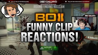 Obey DALLMYD: FUNNY CLIP REACTIONS! (Funny Moments)