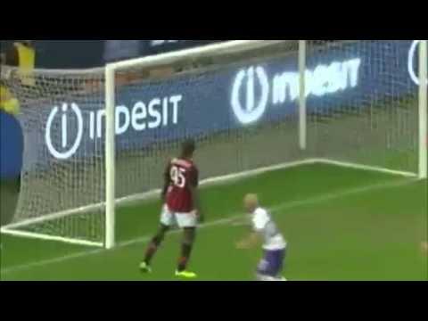 AC Milan vs Fiorentina 0-2 - Borja Valero Gol - Serie A - 11/2/2013