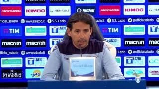 🎥? Le parole di mister #Inzaghi alla vigilia di #LazioPalermo