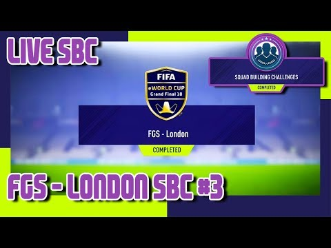 FIFA 18 - FIFA Global Series - FGS London SBC #3 & Pack Opening