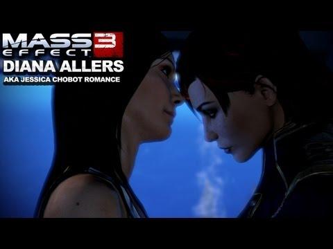 Mass Effect 3 - Diana Allers (Jessica Chobot) Romance -DxF5la6O2mg