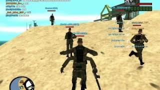 Gta San Andreas Multiplayer Festa KoD Cw [part 1