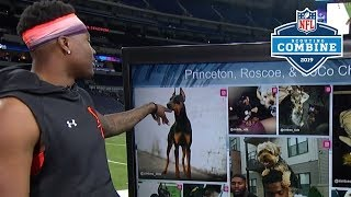 Dwayne Haskins Dishes on His Dogs, Combine Performance, & Odd Journey to Ohio St. | 2019 NFL Combine