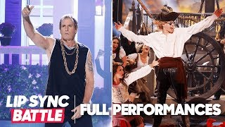 """Michael Bolton's """"Gangsta's Paradise"""" vs. Pete Davidson's """"Jack Sparrow""""   Lip Sync Battle"""