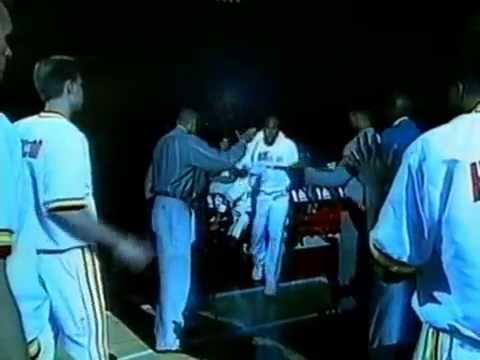 1995 Nba Finals Game 4 Intro - Rockets-Magic Game 4 Finals Intro