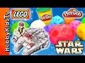 PLAY-DOH Surprise Egg Star Wars Astroids HobbyKidsTV