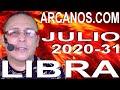 Video Horóscopo Semanal LIBRA  del 26 Julio al 1 Agosto 2020 (Semana 2020-31) (Lectura del Tarot)