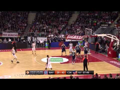 FC Bayern Munich 61-86 CSKA Moscow: Round 5 Euroleague Basketball Top 16