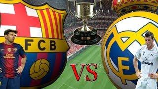 FIFA 14 Barcelona X Real Madrid Melhores Momentos