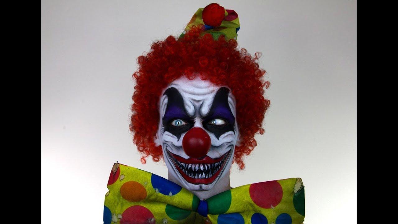Scary Clown MakeUp Tutorial for Halloween | Shonagh Scott ...