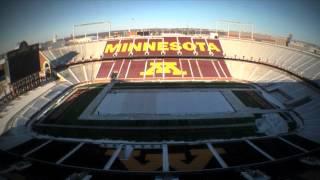 Time Lapse: TCF Bank Stadium Hockey Rink Construction (video)