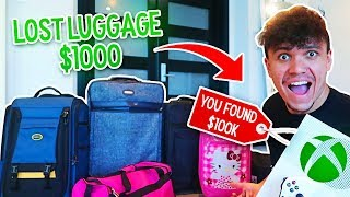 I Bought $1000 Lost Luggage at an Auction and Found This… (PS4, Xbox & Diamonds)