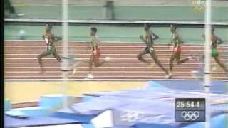 Paul Tergat Vs Haile G in 2000 Olympics 10k