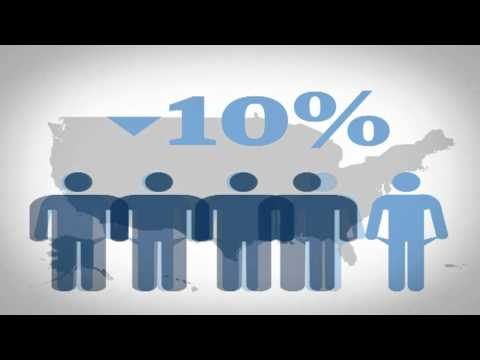 99% v 1%: the data behind the Occupy movement - animation