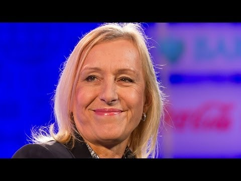 Martina Navratilova on her colossal tennis career