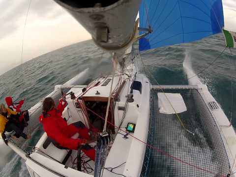 Coppa Dallorso 2012 on Muffolo (Silentbay charter) trimaran
