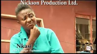 Ini Edo as Nkasi the Village Fighter [Movie Trailer]