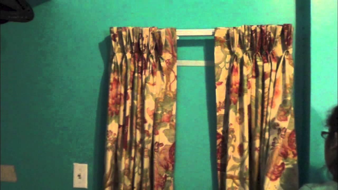 Como instalar un cortinero para cortinas plisadas la - Como hacer un bando para cortinas ...
