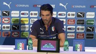 """Buffon: """"Contro l'Olanda prestazione bella e inaspettata"""" - 6 Settembre 2014"""