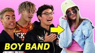 A Boy Band Styled Me For A Week Feat. PRETTYMUCH
