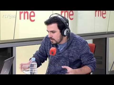 """Entrevista a Alberto Garzón en """"Las Mañanas de RTVE"""" (14/03/2016)"""