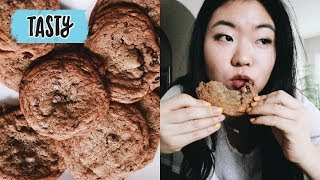 """🍪Trying the """"Perfect Chocolate Chip Cookie"""" Recipe by Tasty"""