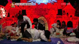Bora and Soyu horrified by Ghost's appearance @ 'Hello' view on youtube.com tube online.