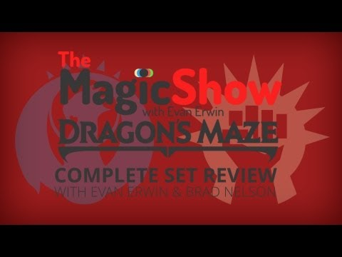 Dragon's Maze Complete Set Review - Red, Izzet and Boros