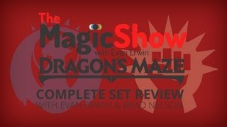 Dragon's Maze Complete Set Review - Red, Izzet and Boros!