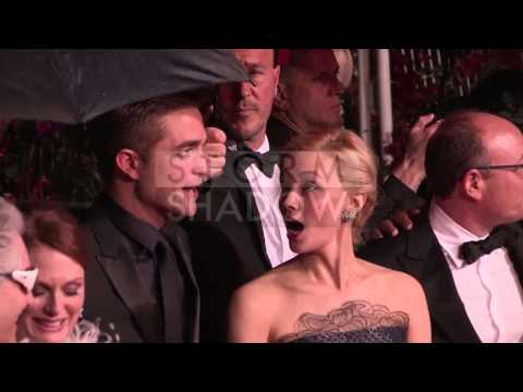 CANNES FILM FESTIVAL 2014 - Robert Pattinson and the cast of Maps to the stars in Cannes