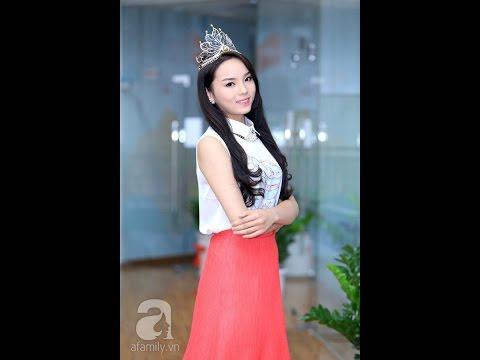 Rò rỉ hình ảnh mới nhất Hoa Hậu Nguyễn Cao Kỳ Duyên - Hoa hậu Việt Nam 2014