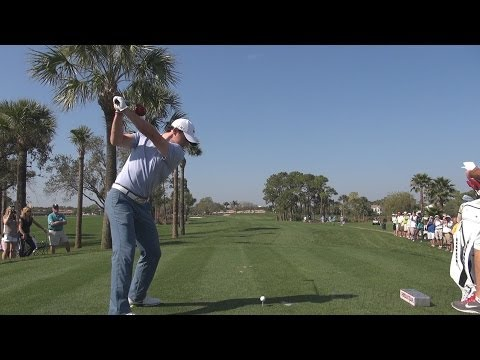 RORY MCILROY - DRIVER BALL FLIGHT GOLF SWING HONDA CLASSIC 2014 - DTL REG & SLOW MOTION 1080p