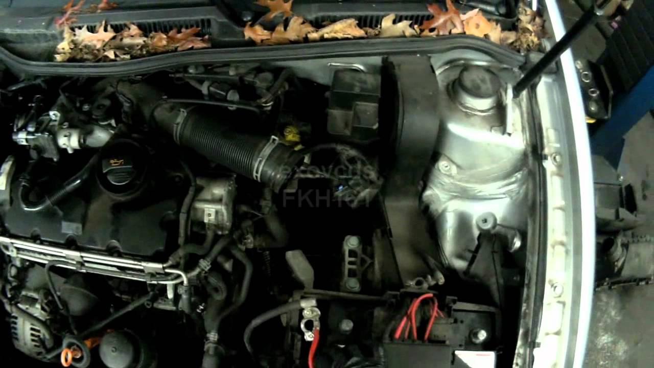 VW    A4  BEW BRM Glow Plug Rail Removing  YouTube