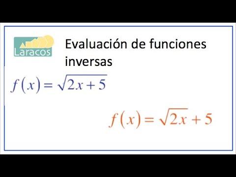 Funciones Inversas (dos casos similares)