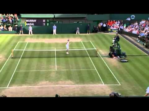 Wimbledon 2008 - Quarterfinal - Andy Murray vs Rafael Nadal - Highlights
