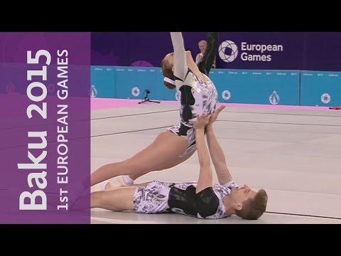 Mixed Pair Final | Gymnastics Aerobic | Baku 2015 European Games