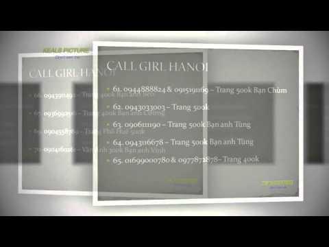 LIST PHONE CALL GIRL HANOI  danh sách điện thoại gái gọi++ MBBG Hà nội