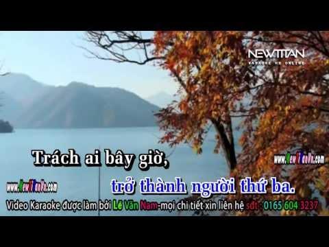karaoke HD (Version Piano)  Bức Tranh Từ Nước Mắt singer : Mr Siro