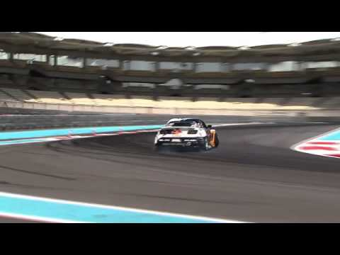 Formula Drift on Yas Marina Circuit for the first time