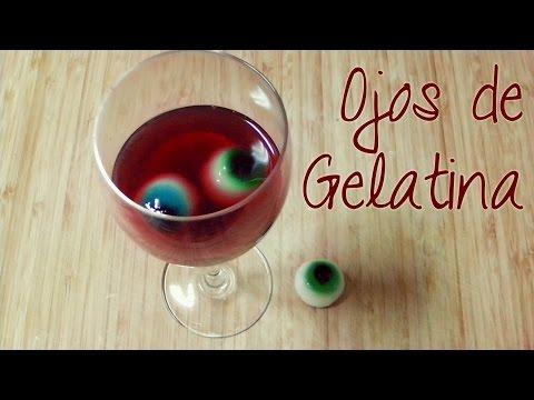 Ojos de gelatina || Manualidades de Halloween