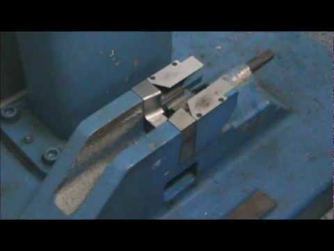 Charpy Impact Test of steel (various angles)