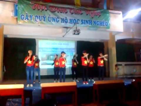 Điệu nhảy dân vũ rửa tay-doraemon 12C8 THPT Nguyễn Trãi