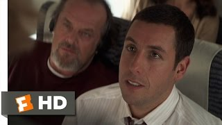 Anger Management (1/8) Movie CLIP Rage On A Plane (2003