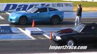 Corvette Z06 Vs Mustang Supercharge
