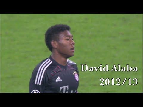 David Alaba Compilation   Bayern München 2012-13