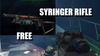 Fallout 4 - Syringer Rifle (Special Weapon Guide Location) HD
