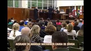 Homem acusado de mandar matar por causa de d�vida � julgado em Juiz de Fora