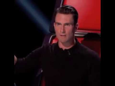 Adam Levine imitating Shakira on The Voice season 6