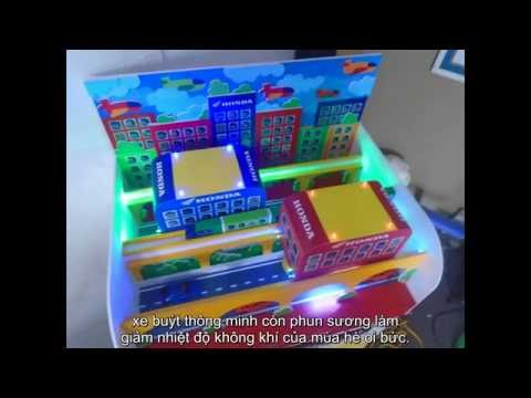 Ý tưởng trẻ thơ - Xe buýt thông minh  - Nguyễn Minh Hoàng - 9 tuổi